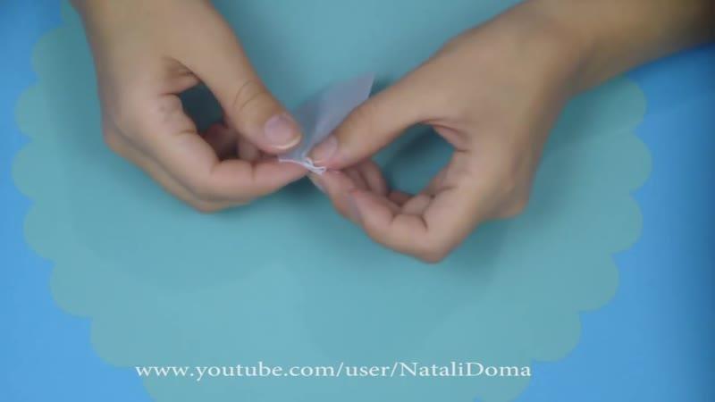 How To Make a Hair Bow Как сделать БАНТ ДЛЯ ВОЛОС ✿ NataliDoma 1