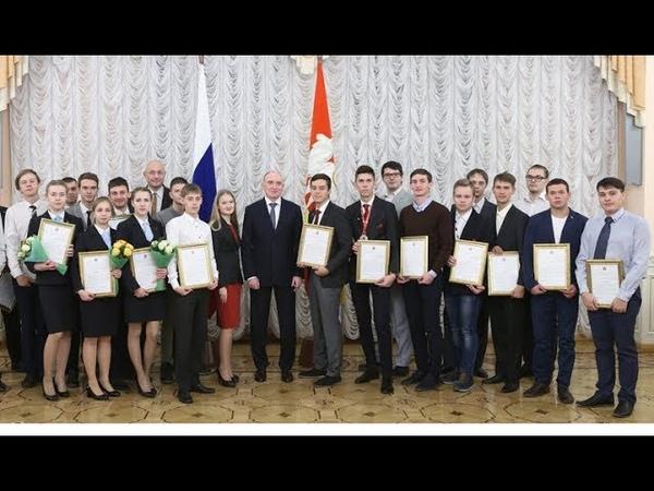 Награждение призеров чемпионатов рабочих профессий