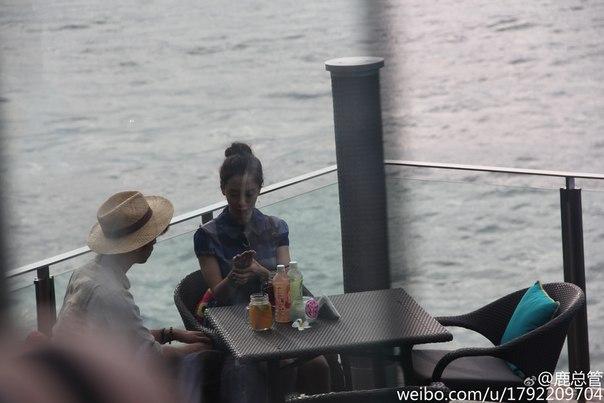 """Сон ДжиХё и Чен БоЛин на съёмках шоу """"We Are In Love..."""
