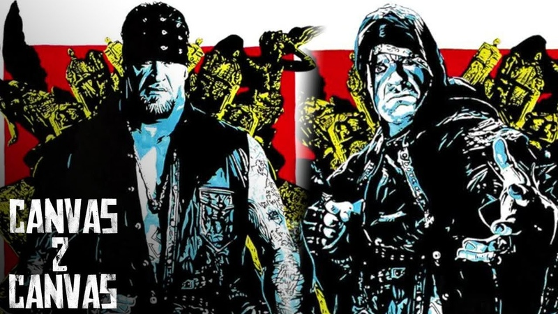 [Crossface Wrestling] Paying homage to The Undertaker WWE Canvas 2 Canvas