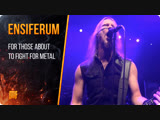 Ensiferum - For Those About To Fight For Metal (OFFICIAL VIDEO) Metal Blade Records 2019