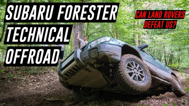 SUBARU FORESTER TECHNICAL OFF ROAD ... CAN LAND ROVERS DEFEAT US ?