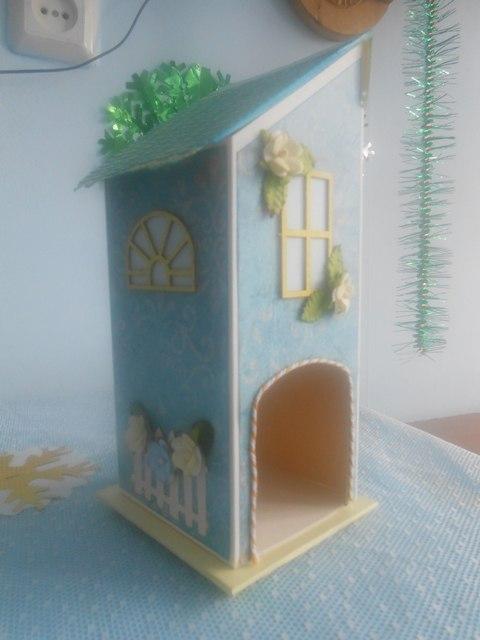 Чайный домик своими руками мастер класс из коробки из под сока - Kuente.ru