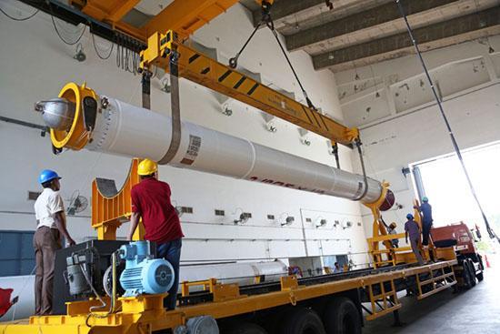 Подготовка к запуску индийского аппарата (зонда) по изучению Марса Mangalyaan 1