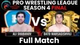 PWL 4 Final Ali Shabanov vs Dato Marsagishvili Haryana Hammers vs Punjab Royals Full Match