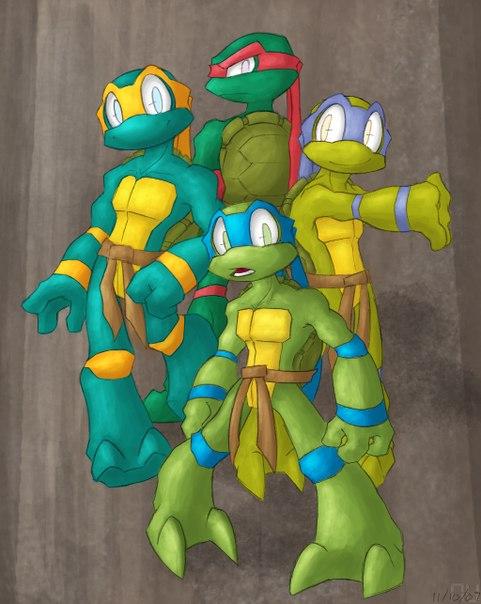 teenage mutant ninja turtles depuis android