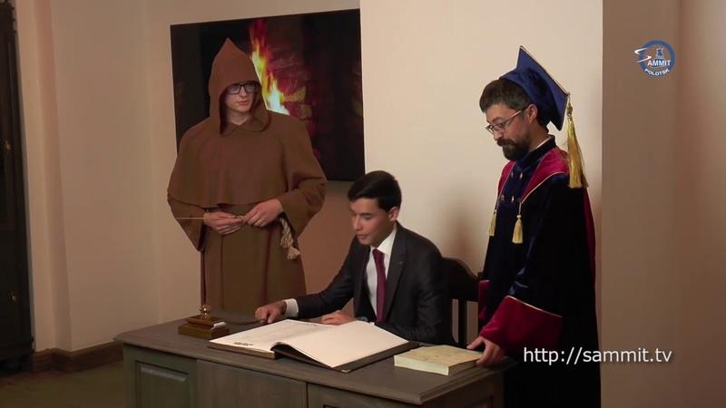 «СаммитТВ»: Студентов-новобранцев Полоцкого госуниверситета посвятили в первокурсники