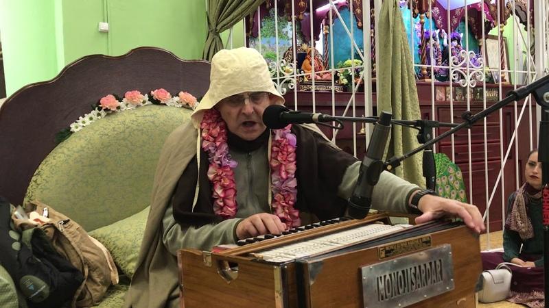 Prabhavishnu prabhu kirtan lecture about Srila Prabhupada in UK 29 09 2018
