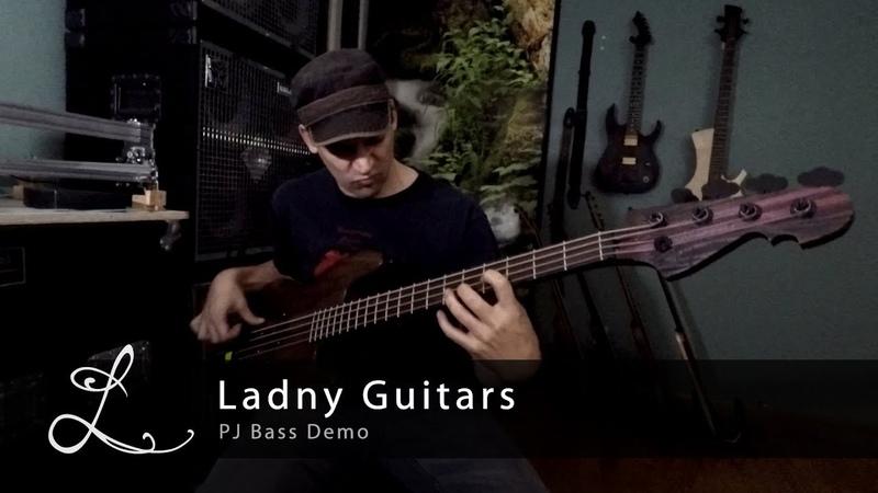 Ladny Guitars - PJ Bass Demo