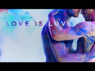 Gay acrobats create stunning visual art - the arrow [love. pride. truth.]