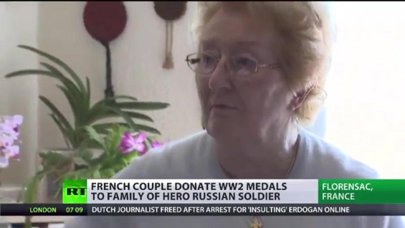 Die 'Magues' – Das französische Ehepaar, das dem russischen Helden von Palmyra s