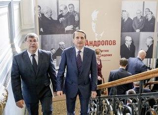 Выставка к 100-летию Андропова.