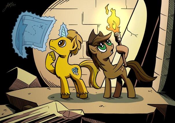 Дружба это Чудо приключения Пони