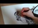 Fast drawing polish uhlan