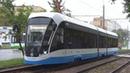 Двести второй Трамвай 71 931М Витязь М №31202 с маршрутом №35 Нагатино Новоконная Площадь