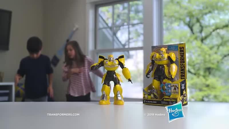 Transformers Bumblebee - DJ Bumblebee - Бамблби Ди Джей