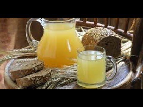 Универсальный рецепт зернового кваса- жидкий хлеб.