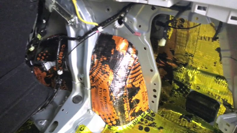 Комплексная шумка Subaru Forester никакого шума внутри какой бы ни была дорога только комфорт