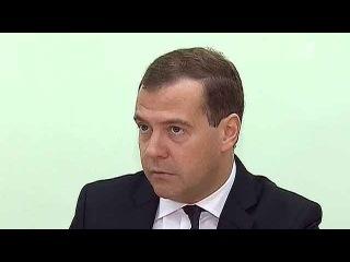 Для некоторых школьников Владимирской области первый урок в этом учебном году провёл Д.Медведев - Первый канал