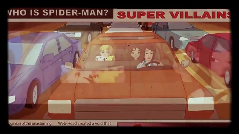 Заставка мультфильма Грандиозный Человек Паук