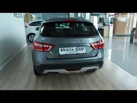 LADA Vesta SW Cross Электропривод двери багажного отделения