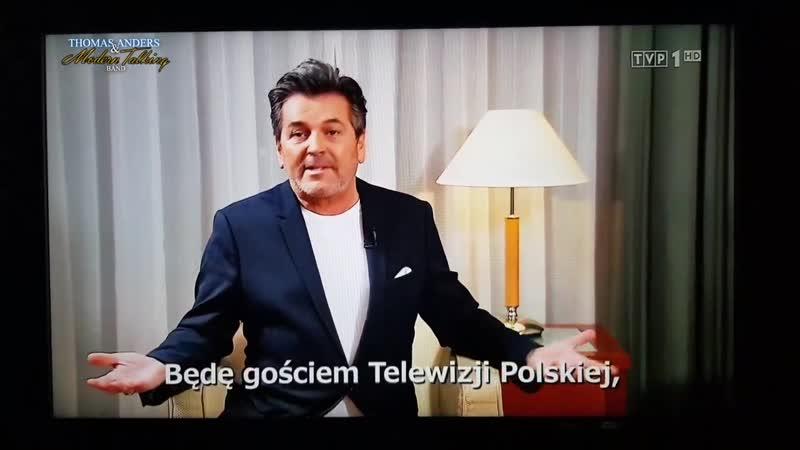 Thomas Anders: Sylwester Marzeń w Zakopanem z TVP2, 31.12.2018