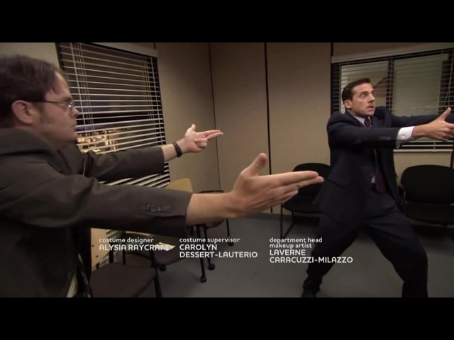 The Office - Murder Mexican Standoff