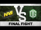 Final fight by Na`Vi vs OG - Game 2 @ DreamLeague S5
