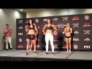 UFCBoise weigh-in face-offs