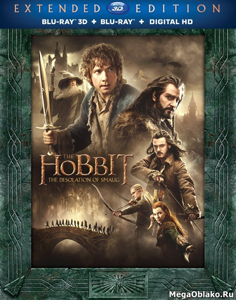 Хоббит: Пустошь Смауга / The Hobbit: The Desolation of Smaug [Extended Cut] (2013/BDRip/HDRip/3D)