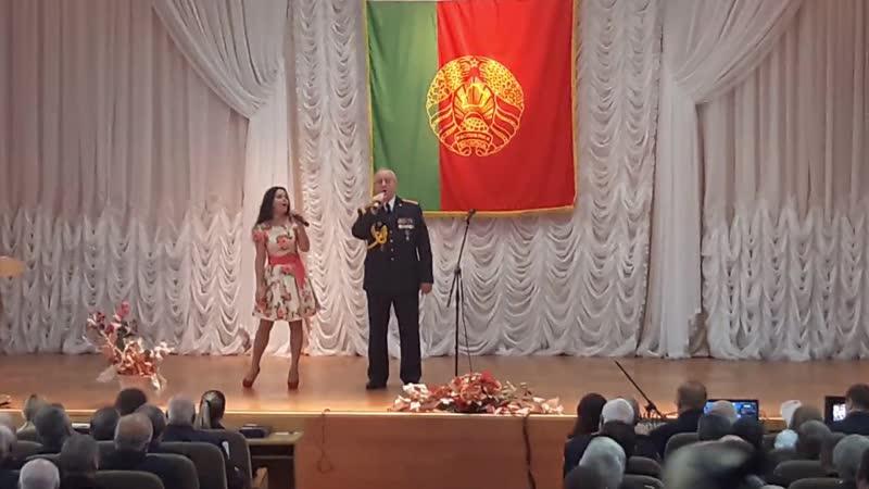 День ветеранов ОВД с поэтом-песенником,автором-исполнителем,композитором,полковником милиции Константином Цыбульским.