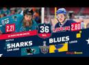 НХЛ НА РУССКОМ. КС-18/19. Р3. Сан-Хосе - Сент-Луис (матч 2)