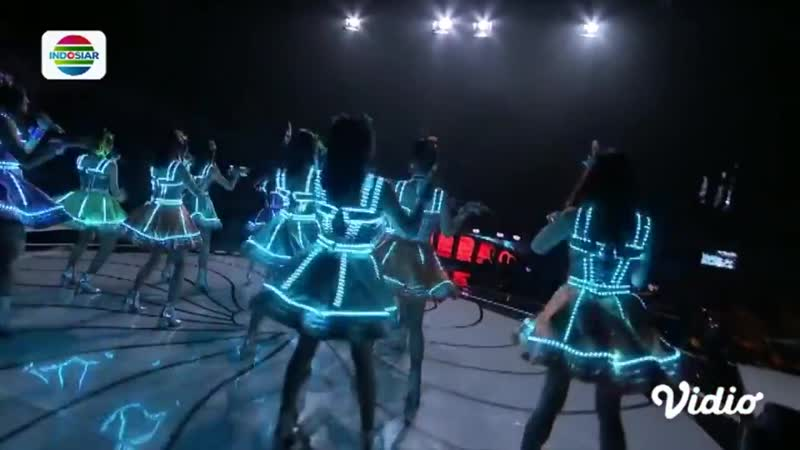 JKT48 - High Tension @ Dangdut Academy Indosiar