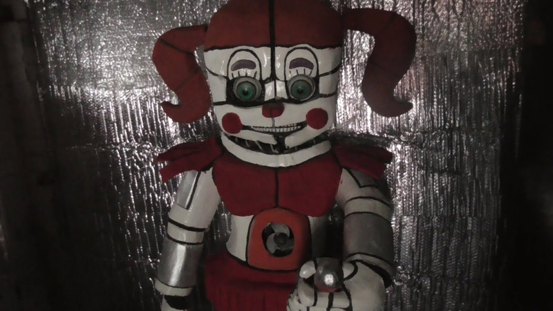 Circus Baby Hand Crafted Model / Prop   Five Nights at Freddy's   Sister Location