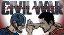 Captain America Civil War Trailer Spoof TOON SANDWICH