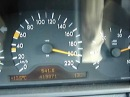 Mercedes E90 100 200km h top speed