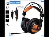 Популярные игровые наушники SADES A6 USB 7,1 Stereo для ПК с AliExpress