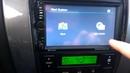 замена навигации в автомагнитоле 7021G change navigation in the car 7021G
