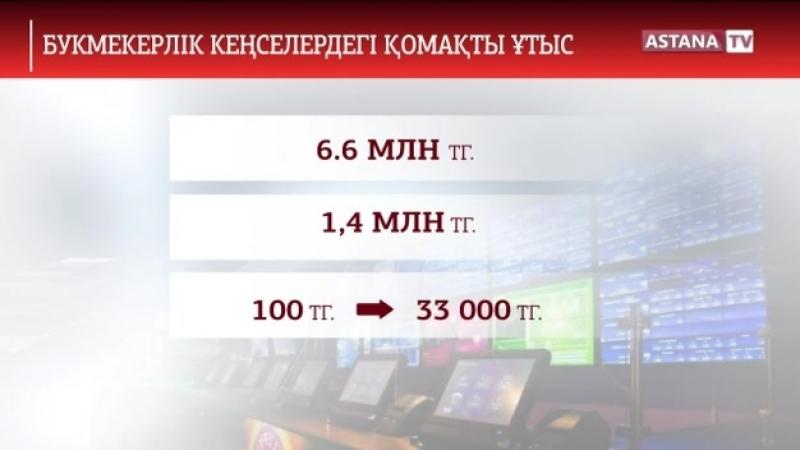 Футбол бәсекесіне бәс тіккен қазақстандықтар миллиондар ұтып жатыр