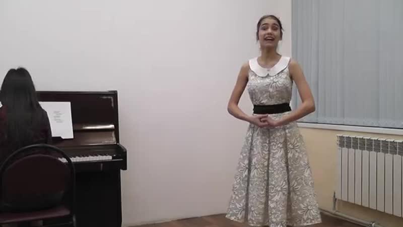 Череповская Анастасия - Над полями , да над чистыми (муз. Е. Горина, сл. А. Рославлев)