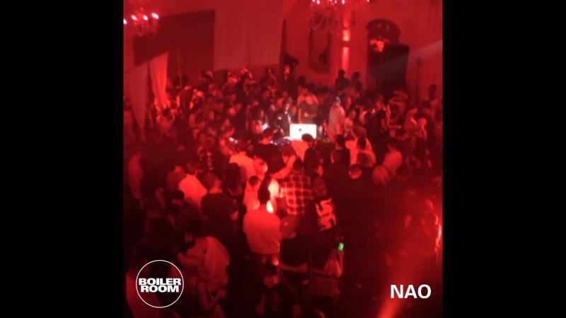 Boiler Room x Tinder Presents The 411 Nao