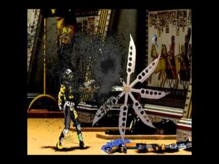 Mortal Kombat Shinobi - Cyrax Fatality 3