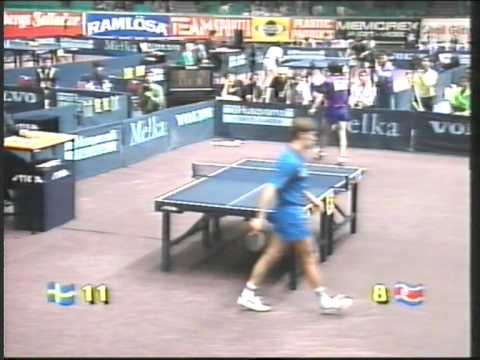 Jan ove waldner li gun sang world championship table tennis 1993