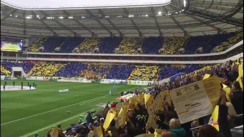 приветствие Ростов арена