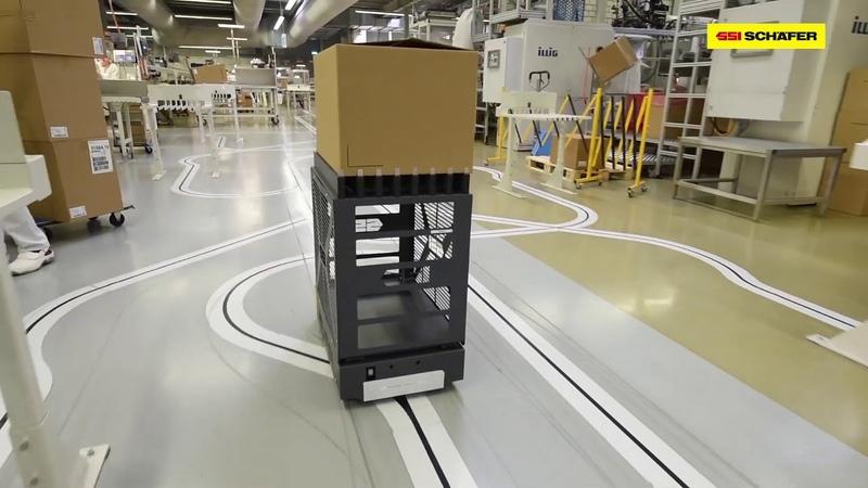Автоматизированное управляемое транспортное средство AGV WEASEL®
