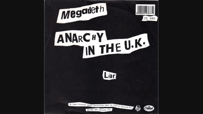 Megadeth - Anarchy In The U.K. (Official Video)