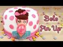 Bolo Pin Up Como Fazer Bolo de Aniversário Pin Up Cakepedia