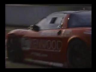 土屋圭市 Keiichi Tsuchiya in a Honda NSX GT2 at LeMans 24h