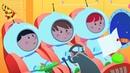РАКЕТА Развивающий мультик для малышей про Синий трактор и космос