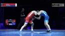 82 кг 1 2 финал Адлан АКИЕВ Александр КОМАРОВ